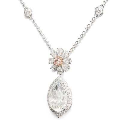 Vintage Diamond Necklace