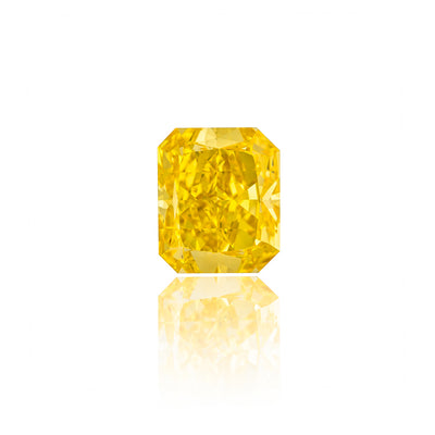 Radiant Cut Fancy Vivid Yellow Diamond (2.23 Carat)