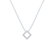 Princess Diamond Necklace