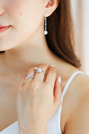 Moonlight Diamond Ring