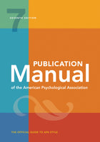 APA Publication Manual of the American Psychological Association 7E