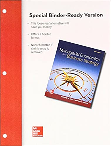 GMS402 - Baye Managerial Economics & Business Strategy 9E