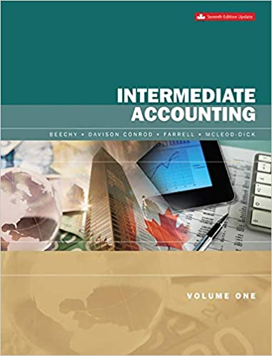 AFA300 - Beechy Intermediate Accounting V1 Updated 7E