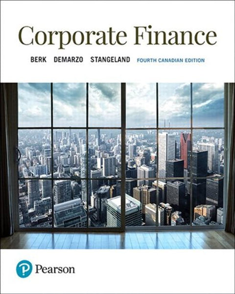ECN320 - Berk Corporate Finance 4E