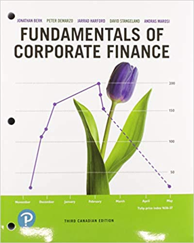 FIN300 - Berk Fundamentals of Corporate Finance 4E
