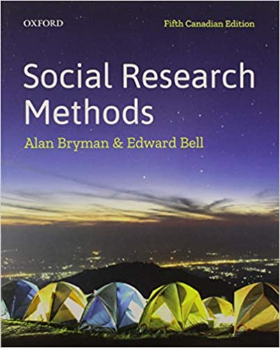 SSH301 - Bryman Social Research Methods 5E
