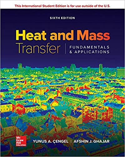 Cengel Heat and Mass Transfer ISE 6E