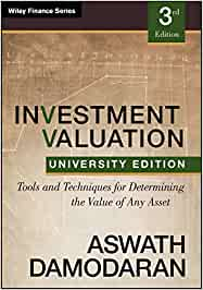AFF420 - Damodaran Investment Valuation 3E
