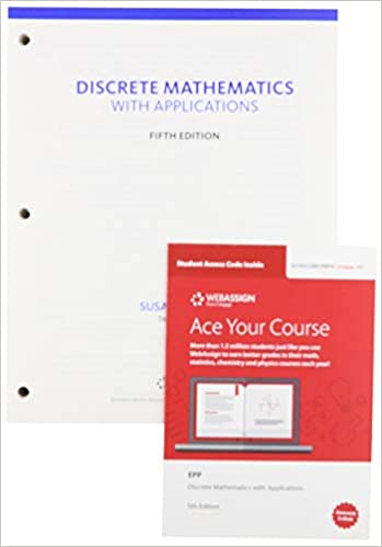 Epp Discrete Mathematics with Applications 5E