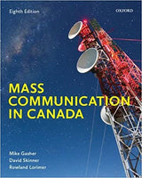 CMN215 - Gasher Mass Communication in Canada 8E (USED)