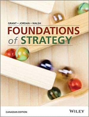 BSM600 - Grant Foundations of Strategy
