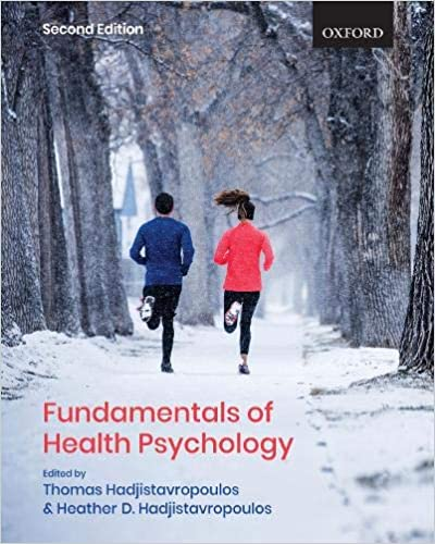 PSY605 - Hadjistavropoulos Fundamentals of Health Psychology 2E