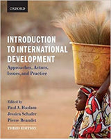Haslam Introduction to International Development 3E