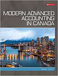 ACC703 - Hilton Modern Advanced Accounting in Canada 9E