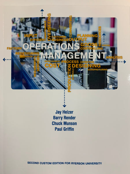GMS401 - Heizer Operations Management Ryerson Custom 2E