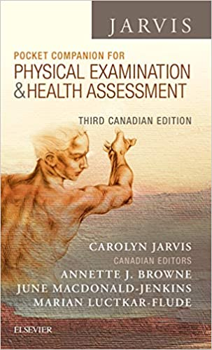 Jarvis Pocket Companion for Physical Examination & Health Assessment 3E