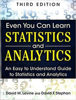 CYC604 - Levine Even You Can Learn Statistics 3E