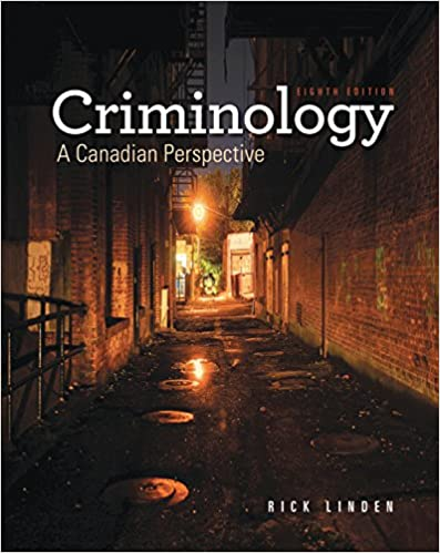 Linden Criminology: A Canadian Perspective 8E (USED)