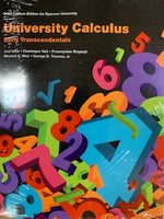 MTH131 - Hass University Calculus Ryerson Custom Edition 3E