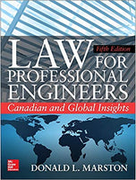 CEN800 - Marston Law for Professional Engineers 5E