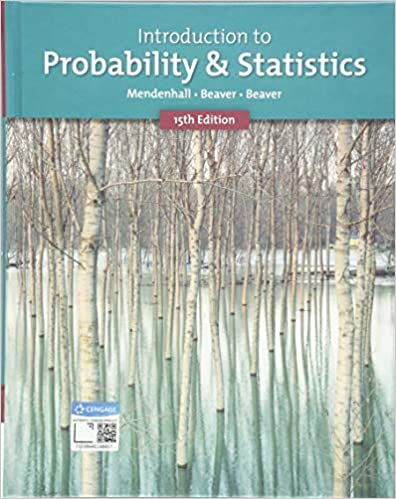 MTH404/410 - Mendenhall Introduction to Probability & Statistics 15E