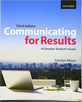 CMN279 - Meyer Communicating for Results 3E (USED Old Edition)