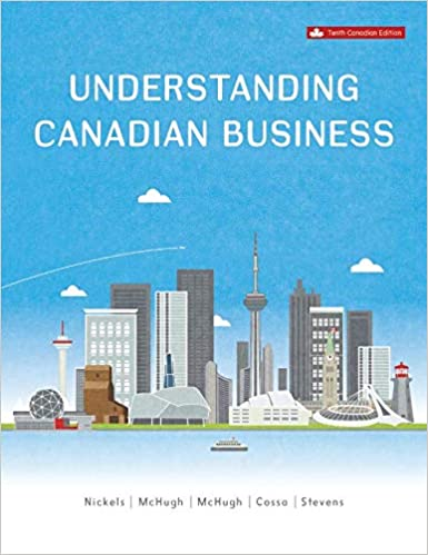 BSM100/200 - Nickels Understanding Canadian Business 10E