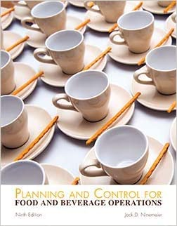 HTF110 - Ninemeier Planning and Control for Food and Beverage Operations 9E (USED)