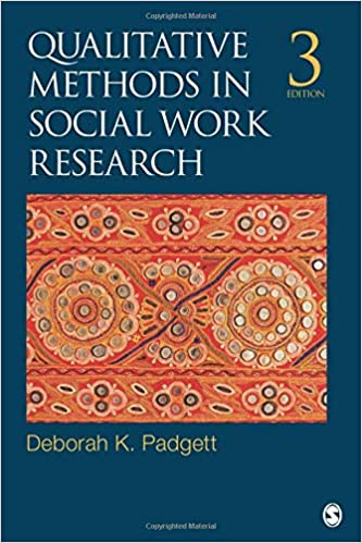 SWP635 - Padgett Qualitative Methods in Social Work Research 3E