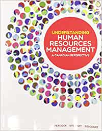MHR523 - Peacock Understanding Human Resources Management