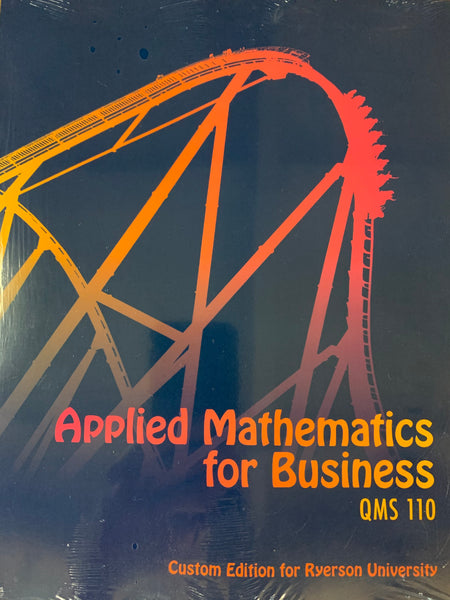 QMS110 - Washington Applied Mathematics for Business