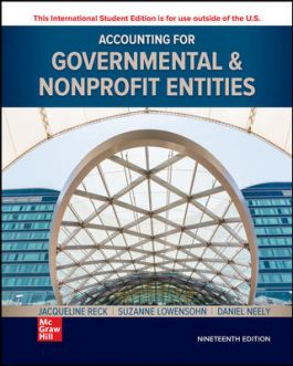 AFA615 - Reck Accounting for Governmental and Nonprofit Entities ISE 18E
