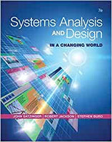 ITM305 - Satzinger Systems Analysis and Design 7E (USED)
