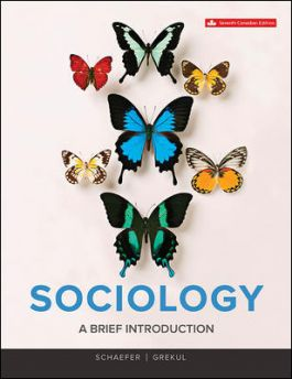 SOC105 - Schaefer Sociology: A Brief Introduction 7E