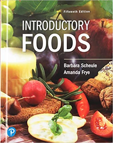 FND100 - Scheule Introductory Foods 15E