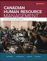 HTH503 - Schwind Canadian Human Resource Management 12E