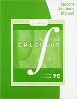 Stewart Student Solutions Manual Multivariable Calculus 8E (USED)