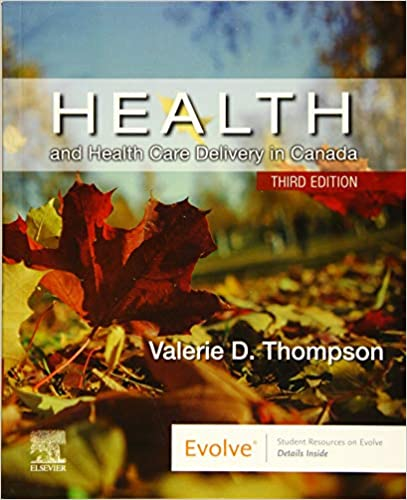 HSM301 - Thompson Health & Health Care Delivery in Canada 3E