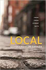 POL123 - Tindal Local Government in Canada 9E
