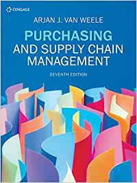 GMS701 - Van Weele Purchasing and Supply Chain Management 7E
