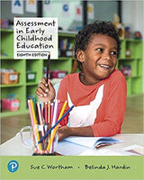 CLD342 - Wortham Assessment in Early Childhood Education 8E