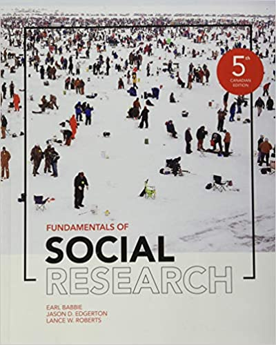 HSM417 - Babbie Fundamentals of Social Research 5E