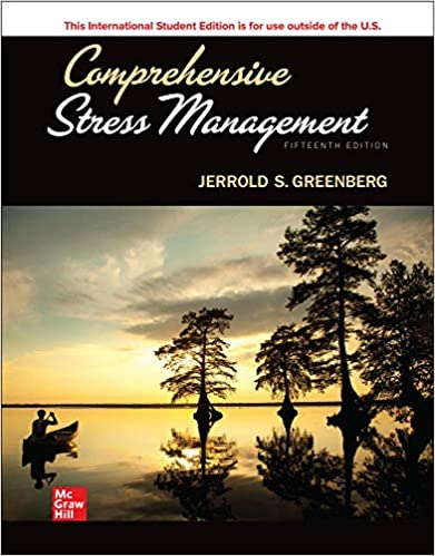 PSY185 - Greenberg Comprehensive Stress Management ISE 15E