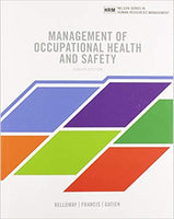MHR711 - Kelloway Management of Occupational Health and Safety 8E
