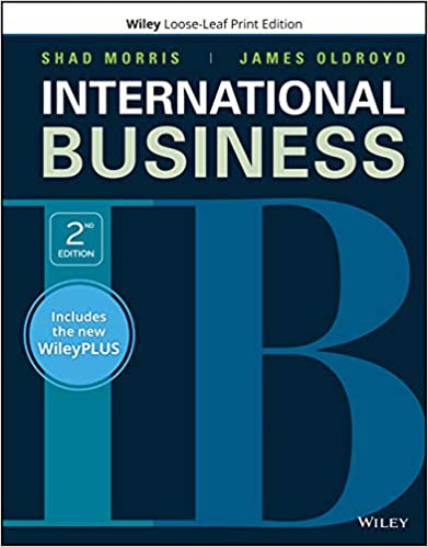 GMS724 - Morris International Business 2E