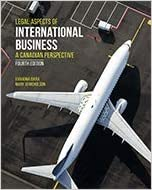 LAW724 - Nicholson Legal Aspects of International Business 4E