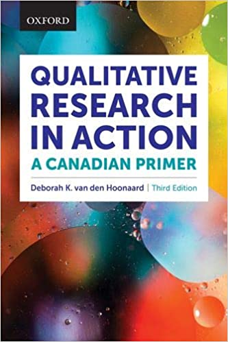 SSH301 - van den Hoonaard Qualitative Research in Action 3E