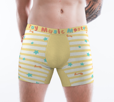 Toy Music Master ToyBoxers - Boxer Briefs (Yellow) - PretendAgain