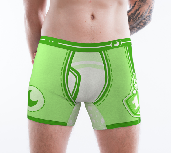Playful Moon ToyBoxers - Boxer Briefs (Green) - PretendAgain