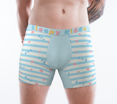 Sleepy Kiddo Beddy Time ToyBoxers - Boxer Briefs (Light Blue) - PretendAgain